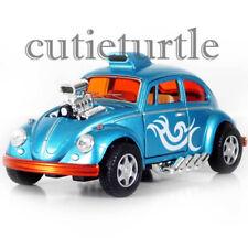 Kinsmart Volkswagen Beetle Custom Dragracer 1:32 Diecast Car KT5405D Light Blue