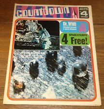 COUNTDOWN COMIC NO. 4 MARCH1971 DR DOCTOR WHO UFO THUNDERBIRDS GERRY ANDERSON