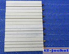 Faller AMS 4510 -- 4 x einspurige Geraden ca 10 cm !