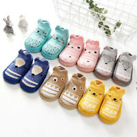 Baby Girl Boy Toddler Infant Anti slip Crawling Slippers Socks Cotton Crib Shoes