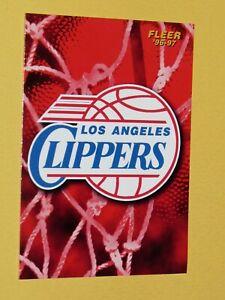 #162 LOS ANGELES CLIPPERS 1996-1997 NBA BASKETBALL FLEER CARD USA