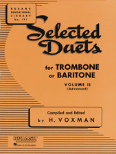 Selected Duets for Trombone or Baritone Volume 2 - Duet Songbook 4471030