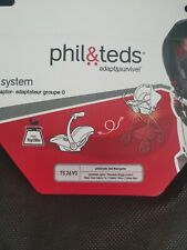 Phil & Teds TS26 v3 Maxi-Cosi Car Seat ADAPTOR Dot, Navigator Maxi Cosi, Pebble