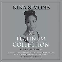 Nina Simone The Platinum Collection 3LP Gatefold White Vinyl Record 42 Classics