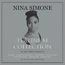 Nina Simone The Platinum Collection 3LP Gatefold White Vinyl Record 42 Classics
