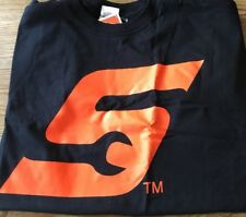 Snap On Tools T Shirt Black Orange S On Front NWT 100% Cotton TS5 Size XL