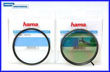 HAMA FILTER SET POL CIRCULAR + UV FILTER 72 MM 70072 / 72572 NEUWARE