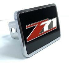 "Tow Hitch Cover W/ Chevrolet Z71 Logo Emblem (Premium Aluminum 2"", 2.5"")"