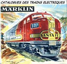 78 CATALOGUES TRAINS ELECTRIQUES MARKLIN & FLEISCHMANN + 335 FICHES sur CD ROM