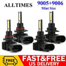 9005+9006 Combo LED Headlight Bulbs for Chevy Silverado 1500 2500 HD 2001-2006
