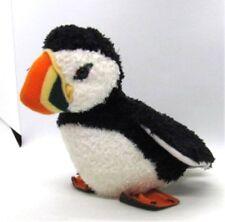 "Douglas Plush Atlantic Puffin KENNY 7.5"" tall Kohair Soft Fuzzy Cuddle Stuffed"