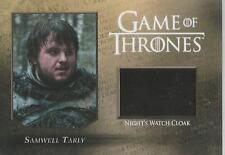 "Game of Thrones Season 5 - CC2 ""Samwell"" Night Watch Cloak Relic Card #145/250"