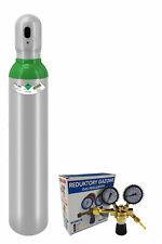 Novueau Bouteille pleine de gaz Argon 4.8 1 8m3 8 litres Légalisé 200bar soudage