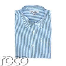 De Niño Camisas, Azul y Blanco Camisa, Camisa Rayas, 3Meses-8Años