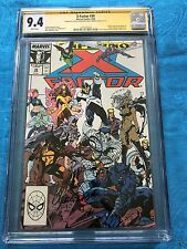 X-Factor #39 - Marvel - CGC SS 9.4 NM - 2x Signed by Walt and Louise Simonson