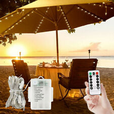 Patio Umbrella Lights 8 Lighting Mode 104 LED String Lights with Remote Control