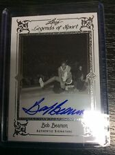 2012 Leaf Legends of Sport BA-BB2 Bob Beamon Sliver 2/10 Auto Autograph Olympics