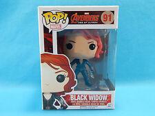 Funko POP! Black Widow Marvel Avengers Age of Ultron #91 Vinyl Bobble-Head