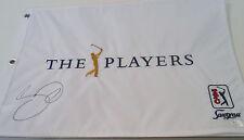 Jason Day Signed 2016 Players Championship Flag w/JSA COA TPC Sawgrass Q30299