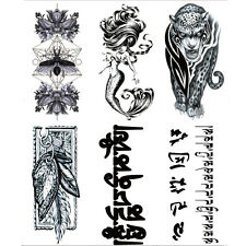 Personality Waterproof Transfer Temporary Tattoo Large Arm Body Art Sticker