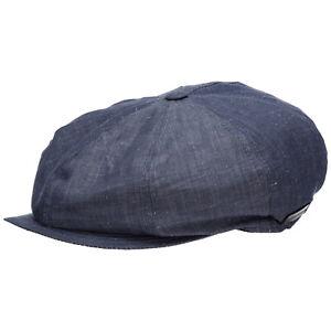 Emporio Armani flat cap men 6275111P50400134 Blue cotton cloth-cap hat