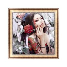 5D Diamond Embroidery Painting Cross Stitch DIY Craft Home Decor Beautiful Lady