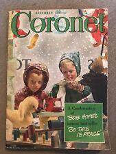 CORONET December 1946 Dec 46 ARTHUR SZYK DOUGLASS CROCKWELL A CHRISTMAS CAROL ++