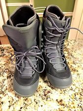 Flow Justice Snow Board Boots Size 8.5 Men's Gray/ Black