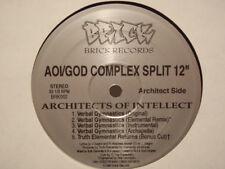 "ARCHITECTS OF INTELLECT / GOD COMPLEX - SPLIT 12"" 1996!!  RARE!! 7L & ESOTERIC!!"