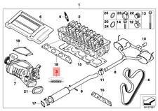 Genuine MINI R52 R53 Engine John Cooper Works Emblem front OEM 51147175101