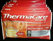 Lot of 8 ThermaCare Heatwraps Back Pain Therapy Size S-M Lower Back/Hip 08/2022