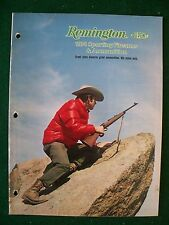 Original 1974 Remington Arms Sporting Arms Catalog, mod.1100,3200,870, etc
