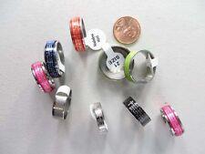 *US Seller*10 rings Christian Prayer Stainless Steel wholesale Ring religious