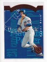RYNE SANDBERG 1993 SP Platinum Power Die-Cut #PP17 Cubs HOF'er