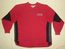 "ADIDAS Trefoil / vintage (1990's) MENS red Sweatshirt / Jumper. 38/40"", 174cm, M"