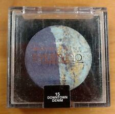 Maybelline Eyestudio Marbleized Eye Shadow Makeup Duo 15 DOWNTOWN DENIM .09 oz