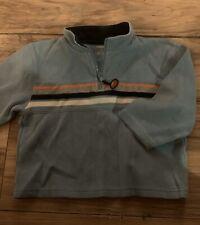 Gymboree All Star Football Boys Sweatshirt Size 2T Blue 1/4 Zipper