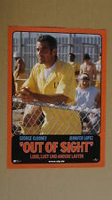 (T396) Aushangfoto OUT OF SIGHT George Cloomey