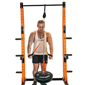 Cable Pulley System - Power Rack Attachment
