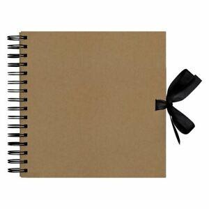"Papermania Scrapbook Memory Photo Kraft Brown Album - Plain (8x8"")"