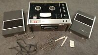 Vintage Sony TC-530 Reel to Reel Tape Recorder Player. READ DESCRIPTION!