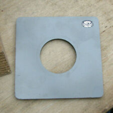 genuine MPP mk8 VIII lens board panel with copal 1 40.4mm hole