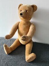 Großer ausdrucksstarker alter Teddybär ca. 68 cm original aus den 20er Jahren