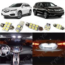 14x White LED Lights Interior Package Kit for 2013-2018 Acura RDX +Tool AR5W