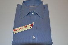 NEW - BURINI -Dress Shirt by BRIONI  100% Cotton Size  Us 15.75  Eu 40
