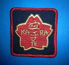 Karate Acacemy Martial Arts Jacket Gi Patch Crest MMA 243 Vintage 1980/'s U.S
