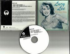 LUCY LEE Don't Stop Asking ULTRA RARE USA 1998 PROMO Radio DJ CD Single MINT