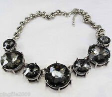 New Design crystal Bib Statement neon Necklace collar 472
