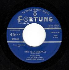 EARLY DETROIT DOO-WOP-LITTLE EDDIE & THE DON JUANS-FORTUNE 836-THIS IS A MIRACLE