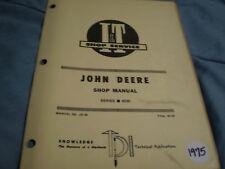 John Deere It Service Manual 6030 Tractor Jd-38